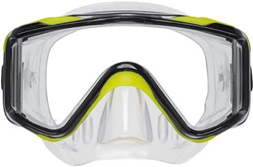 Scubapro Crystal Vu Plus Mask with Purge, Yellow