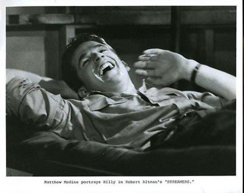 (Matthew Modine Streamers Original 8x10