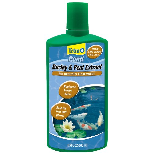 Tetra Control Algae - TetraPond Barley and Peat  Extract For Naturally Clear Water