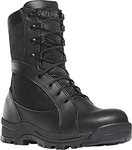 Danner Women's Prowess Side-Zip Military and Tactical Boot Black 9 M US