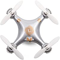 CX-10A Silver Mini RC Quadcopter 6-Axis Gyro LED 4CH 2.4GHz Silver