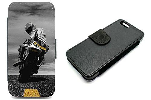 iPhone 5/5S Valentino Rossi 46Superbike Geldbörse Handyhülle