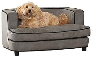 Amazon.com: Cama de felpa para mascotas, 34.5 pulgadas de ...