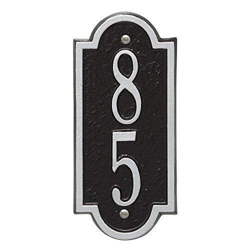 (Whitehall Custom Richmond Mini Vertical Address Plaque 4