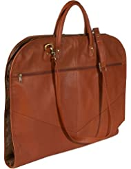 Royce Leather Unisex Milano Cowhide Spencer Garment Bag