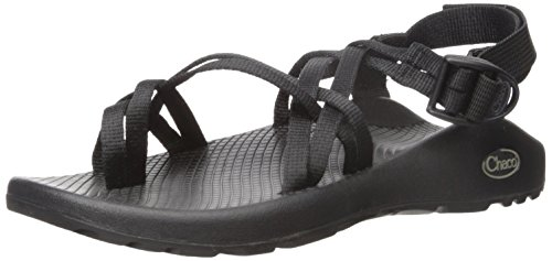 Chaco Women's ZX2 Classic-W, Black, 7 M - Black Look Buckle New Wet