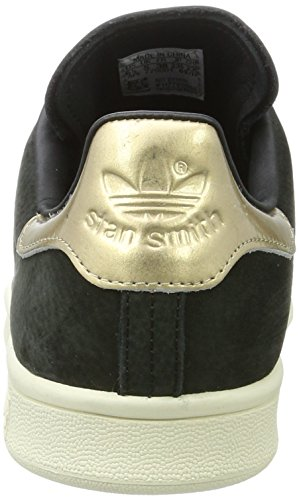Originals 5 7 Smith Leaf and Nubuck Originals Golden US Women's Black Stan adidas Black UK 5 Sneaker q4xTdffw