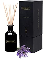 Reed Diffusers for Home   Lavender & Eucalyptus Fragrance Diffuser   Aromatherapy Scented Oil Reed Diffuser Set   Scented Sticks Diffuser   Perfect Blend to Relieve Stress and Promote Relaxation