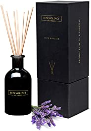 Benevolence LA Reed Diffusers for Home | Lavender & Eucalyptus Fragrance Diffuser | Aromatherapy Scented O