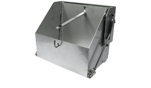 Allstar ALL76101 9-1//2 Wide x 7-1//4 Deep Lightweight Steel Battery Mounting Box