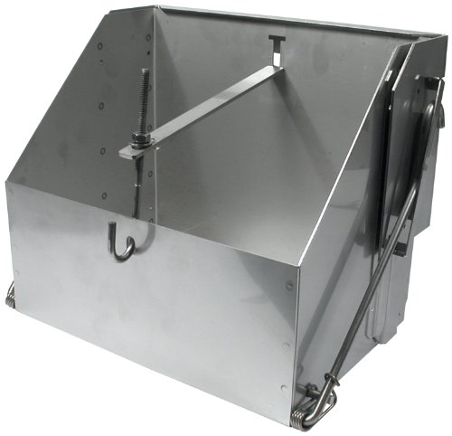 Allstar ALL76105 10-1/2'' Wide x 7 '' Deep x 9-1/2'' Tall Stainless Steel Battery Mounting Box by Allstar
