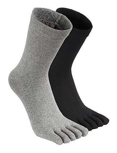 H2H Womens Casual Toe Socks 3 Pairs or Multicolored 1 Set SET M (KWMS054)