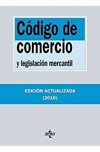 Código De Comercio Y Legislación Mercantil