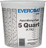Evercoat 791 5 Quart Paint Mixing Cup, 25 Pack