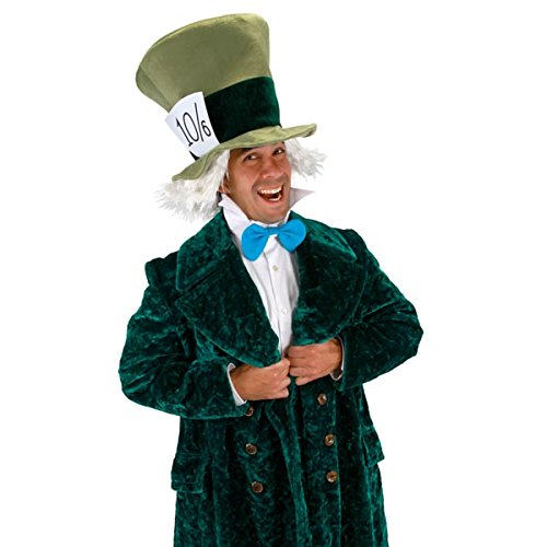 [Elope Mad Hatter Kit Adult Costume Accessory Kit] (Mad Hatter Costume 10/6)