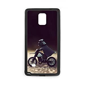 Custom Star War Cell Phone Case, Custom Durable Cover Case for Samsung Galaxy Note 4 Star War