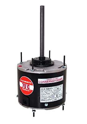 A.O. Smith FE1028SF 1/4 HP, 825 RPM, 825 volts, 1.5 Amps, 48 Frame, Ball Bearing Condenser Motor