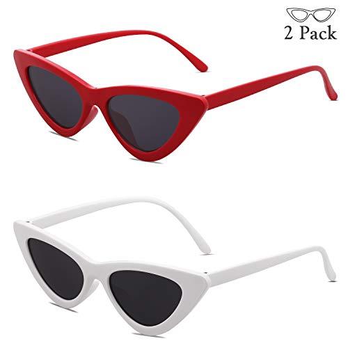 c6b6ff2dab SOJOS Clout Goggles Cat Eye Sunglasses Vintage Mod Style Retro Kurt Cobain  Sunglasses SJ2044 - Buy Online in Oman.
