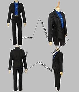 衣装おそ松さん 松野カラ松 黑手党 コスプレ衣装+手袋オーダー可能 クリスマス、