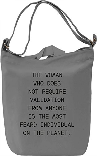 Power of woman Borsa Giornaliera Canvas Canvas Day Bag| 100% Premium Cotton Canvas| DTG Printing|