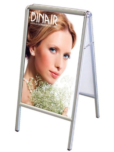 A-frame Markerboard (Fantastic Displays A-Frame Top Sliding Double Sided Professional Poster Stand Street Sign Sidewalk)
