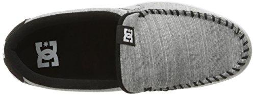 DC Men's Villain Tx Skateboarding Shoe, Grey Light Used, 11 D US