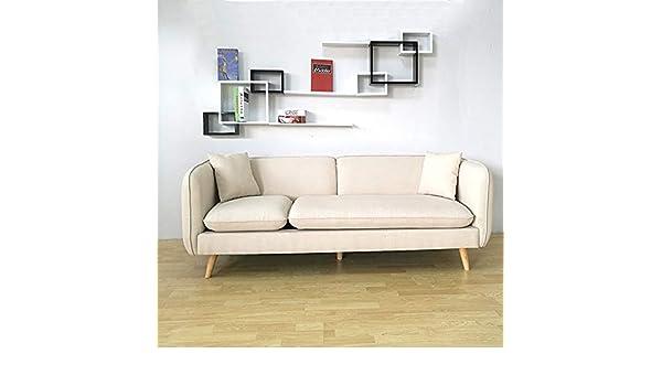 QZXCD Sofá Creativo pequeño apartamento sofá de Tela ...