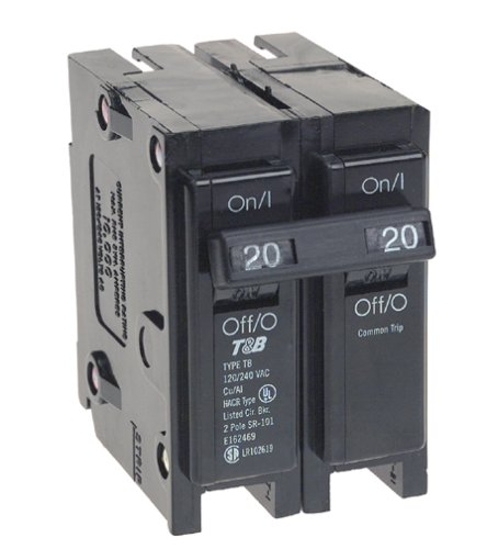 View-Pak Div. Of Tes ICBQ220 Siemens 2 Pole Common Trip Circuit Breakers