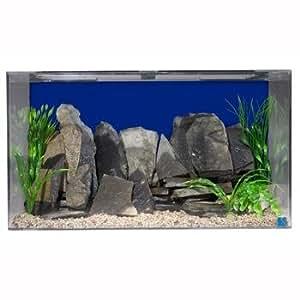 "SeaClear 50 gal Acrylic Aquarium Combo Set, 36 by 15 by 20"", Cobalt Blue"