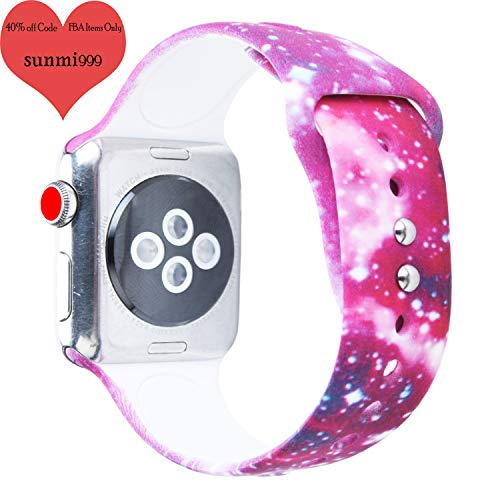 Sunmitech Compatible with Apple Watch Band 38mm ()