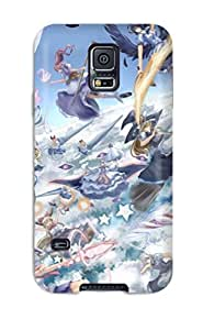 Awesome Touhou Flip Case With Fashion Design For Galaxy S5