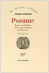 Psaume: Roman-méditation sur les quatre fléaux du Seigneur
