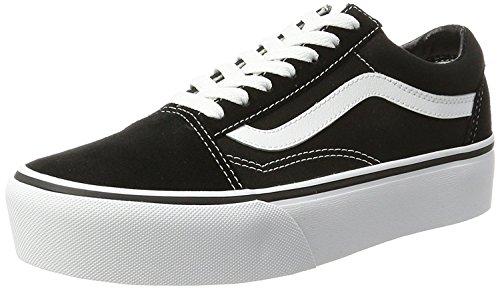 Vans Old Skool Platform Shoes 8.5 B(M) US Women/7 D(M) US Black White