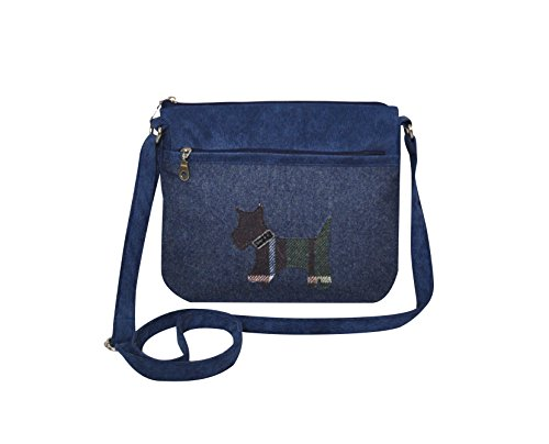Applique Messenger Handbag Fair Trade by Earth Squared Dog