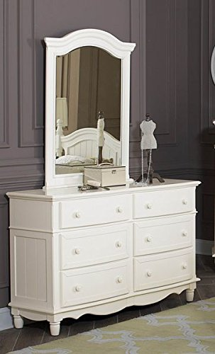 Clementine Dresser In Antique White by Homelegance