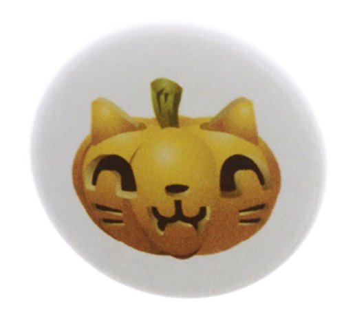 A&T Designs QTY 10 Carved Kitty Cat Halloween Pumpkin 1.25
