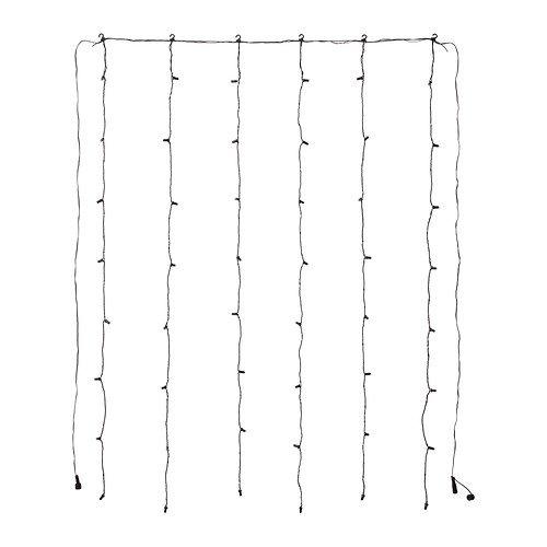 Black Led Light Curtain - 3