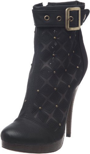 B Two Design Women's Boots Black - Black RXFIhxX