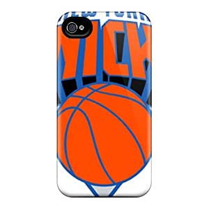 High Quality Shock Absorbing Case For Iphone 4/4s-knicks by Maris's Diary
