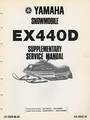 Yamaha Exciter Snowmobile - Trainers4Me on