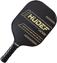HUDEF Pickleball Paddle Pickleball Racquet Lightweight 7.2-7.8oz,PP Honeycomb Composite Core Balanced Pickleba