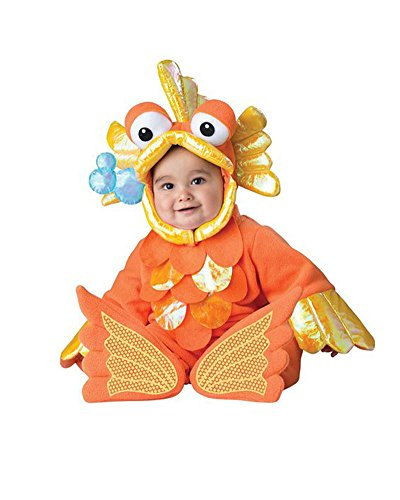 Gamery Animal Costumes for Infant Toddlers Baby Boys Girls Kids Cosplay Goldfish 10-12 Months