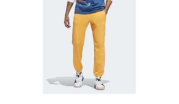 adidas Originals App Men Football Pants, Flash Orange, XX-Large ...