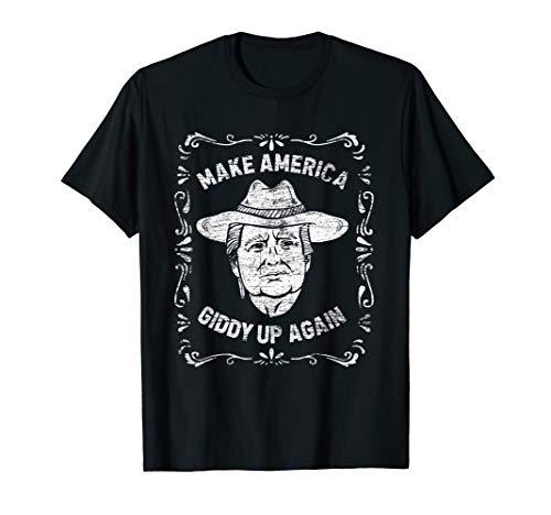 Donald Trump - Make America Giddy Up Again - Rodeo Cowboy ()