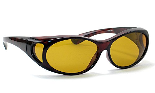 High Definition Polarized Wear-Over Sunglasses by Calabria 7096PL in - Sunglasses Of Definition Polarized