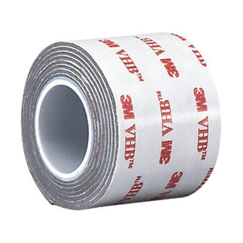 3M VHB Tape RP62 2.5 in Width x 5 yd Length, 1 roll