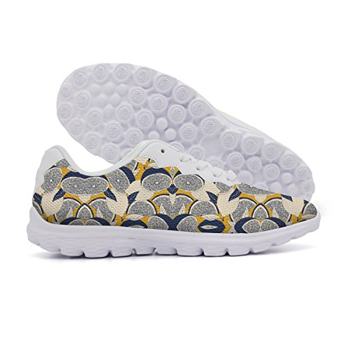 OPERVBAL Blue Yellow Boutique Orange Pear Portail Women's Nmd Shoes Print - Recipes Jam Pear