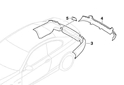 Bmw Genuine Rear Bumper Towing Eye Cover 51 12 0 415 360 Amazon