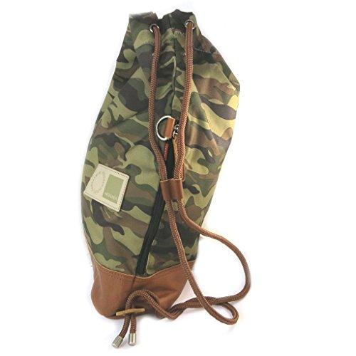 Duffel Hedgrenkaki camouflage - 48x39x13 cm.