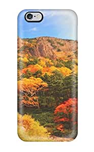 Excellent Iphone 6 Plus Case Tpu Cover Back Skin Protector Autumn Earth Nature Autumn